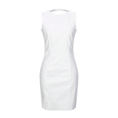 リュー ジョー LIU •JO ミニワンピース&ドレス ホワイト 42 レーヨン 100% / ポリウレタン樹脂 ミニワンピース&ドレス