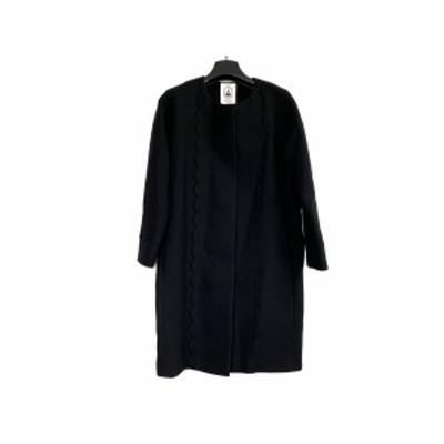 ルルロジェッタ Leur Logette コート サイズ1 S レディース - 黒 長袖/冬【中古】20210201