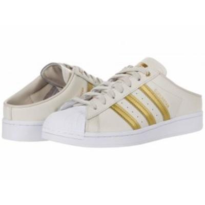 adidas Originals アディダス レディース 女性用 シューズ 靴 スニーカー 運動靴 Superstar Mule Clear Brown/Gold【送料無料】