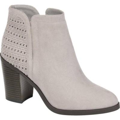 ジュルネ コレクション Journee Collection レディース ブーツ シューズ・靴 Comfort Foam(TM) Jessica Bootie Grey