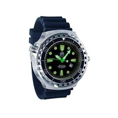 特別価格Super Big 52mm Diver Watch -Automatic movt. Sapphire Glass Helium velve T03好評販売中