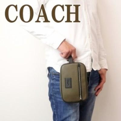 コーチ COACH バッグ メンズ セカンドバッグ ポーチ トラベルポーチ 91316QBPJR ブランド 人気