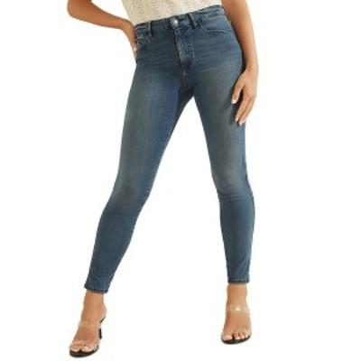 ゲス レディース デニムパンツ ボトムス 1981 Medium Wash Skinny Jeans Delancey Wash