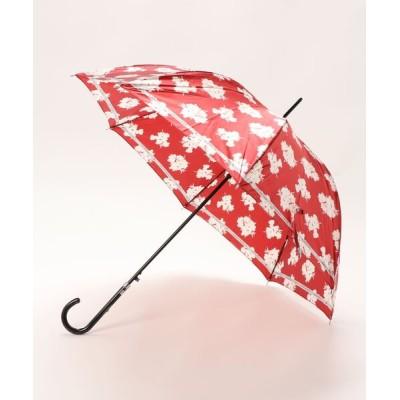 "MOONBAT / 傘 ""ボタニカル リボン"" 耐風 WOMEN ファッション雑貨 > 長傘"