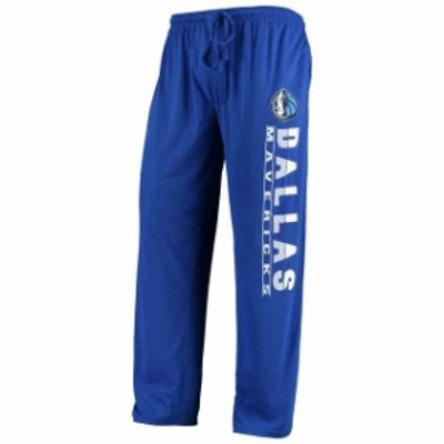 Concepts Sport コンセプト スポーツ スポーツ用品  Concepts Sport Dallas Mavericks Blue Solid Knit Pants