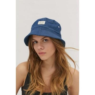 アーバンアウトフィッターズ Urban Outfitters レディース ハット バケットハット 帽子 UO Utility Bucket Hat Indigo