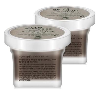 韓国ビューティー商品c079スキンフードブラックシュガーマスクウォッシュオフスクラブ韓国ブランド化粧品