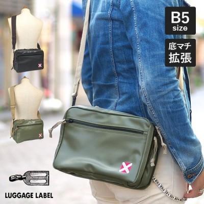 1年保証 吉田カバン ラゲッジレーベル ライナー ショルダーバッグ M B5 ブラック カーキ 951-09241