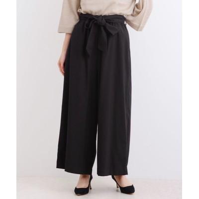 LA MARINE FRANCAISE / T/R ストレッチ/チェック イージーワイドパンツ WOMEN パンツ > パンツ