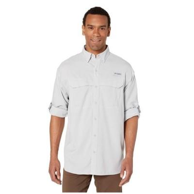 コロンビア Columbia メンズ シャツ トップス Low Drag Offshore(TM) Long Sleeve Shirt Cool Grey/White