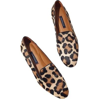 マルゴー Margaux レディース ローファー・オックスフォード シューズ・靴 The Loafer Leopard Haircalf