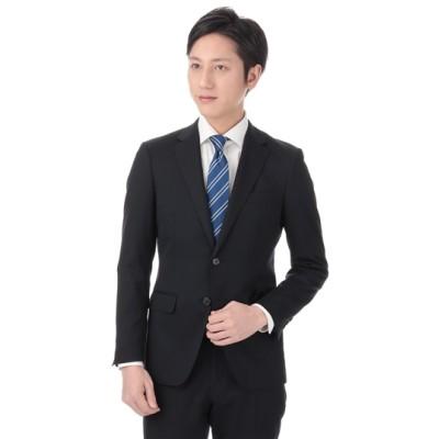スタイリッシュスーツ【就活】【紺無地】【ツーパンツ】