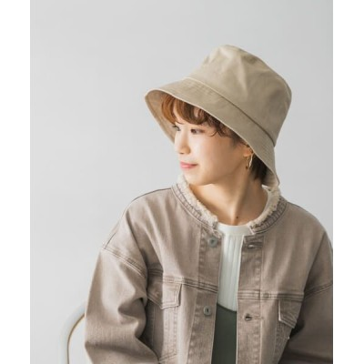 URBAN RESEARCH/アーバンリサーチ ツイルバケットハット BEIGE -
