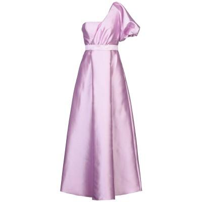 BY MALINA ロングワンピース&ドレス ライトパープル M ポリエステル 100% ロングワンピース&ドレス