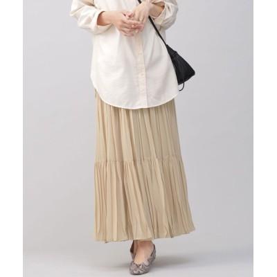 nano・universe / ワッシャープリーツスカート WOMEN スカート > スカート