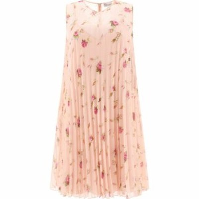 ヴァレンティノ Red Valentino レディース ワンピース ワンピース・ドレス Floral Pleated Dress Pink