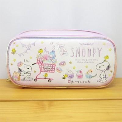 スヌーピーペンケース ピーナッツ スヌーピー BOXペンポーチ ショッピング スヌーピー PEANUTS SNOOPY ペンポーチ 筆箱 おしゃれ