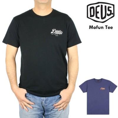 デウス エクス マキナ Deus Ex Machina 半袖 プリント Tシャツ Mofun Tee クルーネック バックプリント メンズ