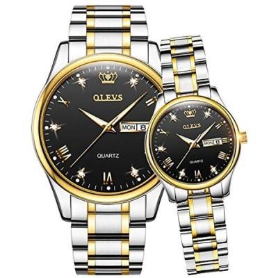 ペア 腕時計 ペアウォッチ カップル 人気 メンズ レディース ペア 時計セット うで時計 クラシック メタルバンド ステンレスバンド 防水