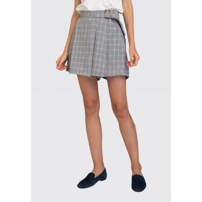 リジー L'Zzie レディース ミニスカート スカート Adriana Skorts - Checked Checked