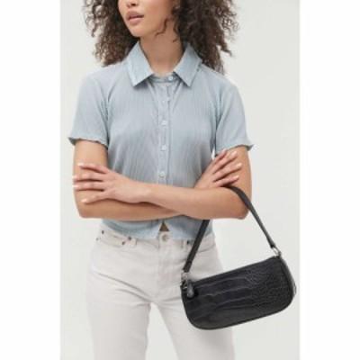 アーバンアウトフィッターズ Urban Outfitters レディース バッグ uo croc baguette bag Black