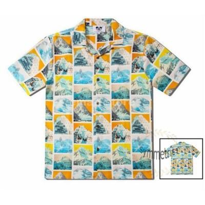 総柄シャツ ハワイシャツ メンズ アロハシャツ カジュアルシャツ 半袖シャツ 開襟シャツ オシャレ 個性 夏物 2020 新作