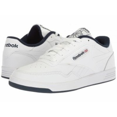 Reebok リーボック メンズ 男性用 シューズ 靴 スニーカー 運動靴 Club Memt White/Collegiate Navy【送料無料】