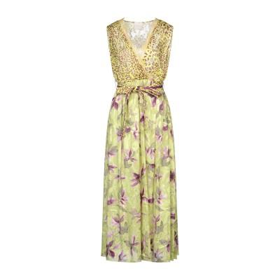GIORGIA  & JOHNS ロングワンピース&ドレス ライトグリーン L ポリエステル 100% ロングワンピース&ドレス