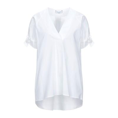 BEATRICE .b ブラウス ホワイト XS コットン 96% / ポリウレタン 4% ブラウス