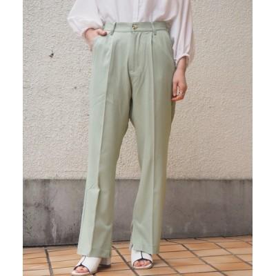tiptop+pocket / 【web限定アイテム】センタープレスパンツ WOMEN パンツ > スラックス