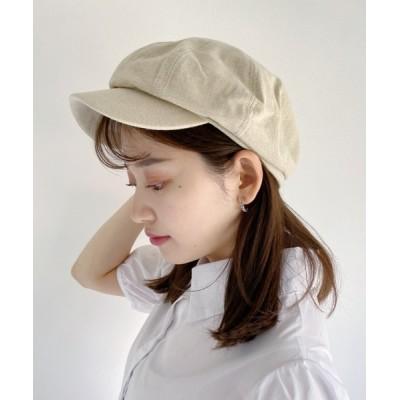 Outfitter lab / リネンライクキャスケット WOMEN 帽子 > キャスケット