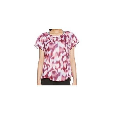 ミズノ MIZUNO ランニングTシャツ ウィメンズ J2MA5701 61 パーシモンレッド M