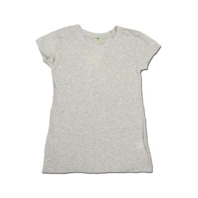cobano (コバノ) O/C SPROUT TEE オーガニックコットン フレンチスリーブ Tシャツ / L.GREY