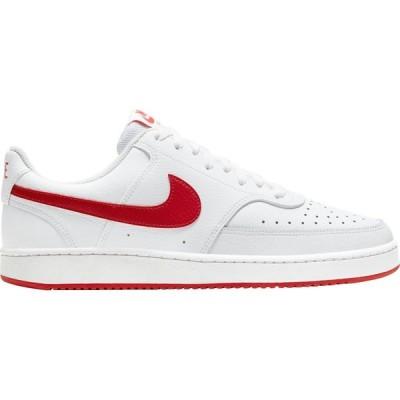 ナイキ Nike メンズ スニーカー シューズ・靴 Court Vision Shoes White/Red