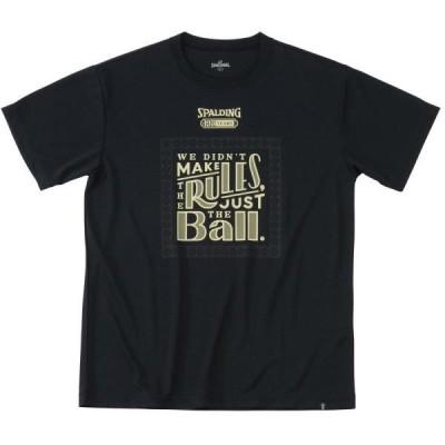 Tシャツ バスケ バスケTシャツ バスケウェア Tシャツ 125th ボール ブラック/1000  (SP)(QCB02)