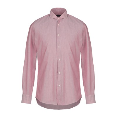 アティピコ AT.P.CO シャツ レッド 39 コットン 100% シャツ