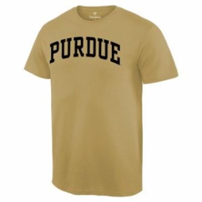 Fanatics Branded ファナティクス ブランド スポーツ用品  Purdue Boilermakers Vegas Gold Basic Arch T-Shirt