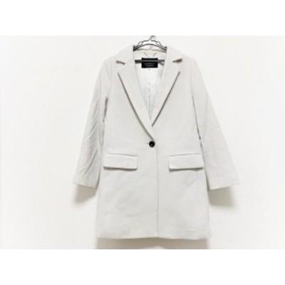 ジャスグリッティー JUSGLITTY コート サイズ1 S レディース - 白 長袖/冬【中古】20201024