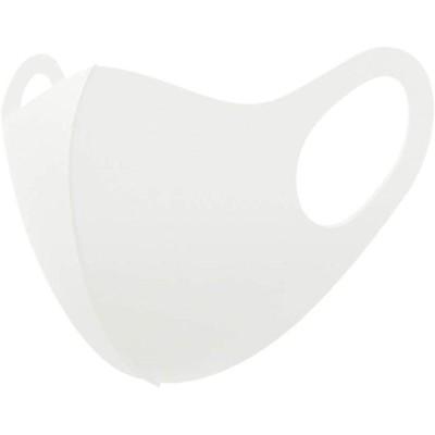 【返品不可】洗えるマスク 白 ポリエステル製 10枚までネコポス(送料250円)で発送します。
