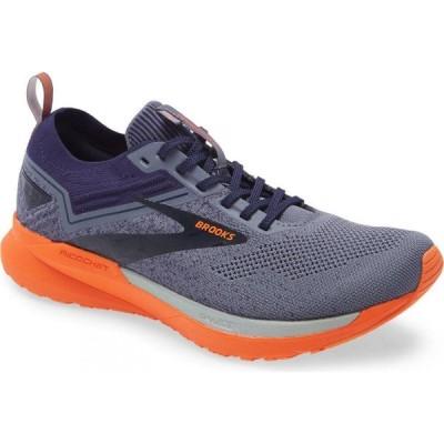 ブルックス BROOKS メンズ ランニング・ウォーキング シューズ・靴 Ricochet 3 Running Shoe Navy/Grey/Red