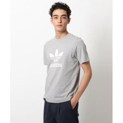 OPAQUE.CLIP/オペーク ドット クリップ adidas TREFOILT半袖Tシャツ グレー(012) 03(L)