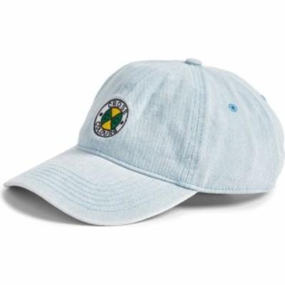 クロスカラーズ CROSS COLOURS レディース キャップ ダッドハット 帽子 Circle Logo Dad Hat Vintage Indigo