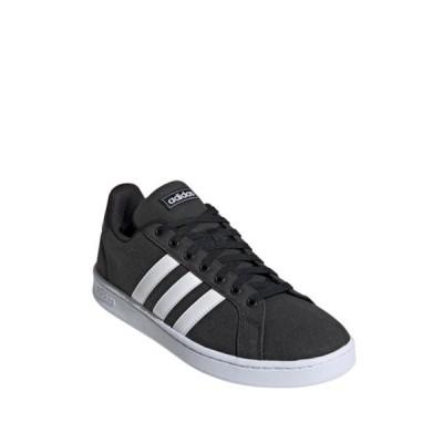 アディダス メンズ スニーカー シューズ Grand Court Sneaker CBLACK/FTW