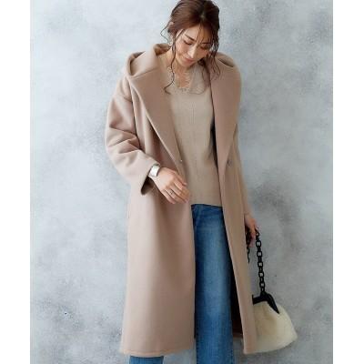 バックタックフーデットコート (コート)(レディース)Coat