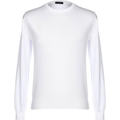 トンボリーニ TOMBOLINI メンズ ニット・セーター トップス sweater White