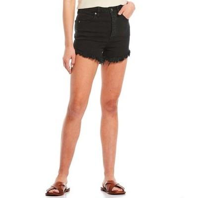 フリーピープル レディース ハーフパンツ・ショーツ ボトムス Crvy Vintage High Rise Fray Hem Shorts