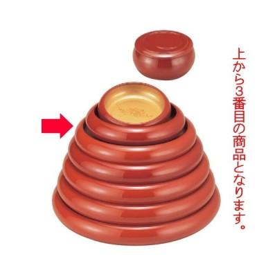 寿司 寿冠鉢色紙金箔外朱9寸 [29φ x 6.3cm] ABS樹脂 (7-458-3) 料亭 旅館 和食器 飲食店 業務用