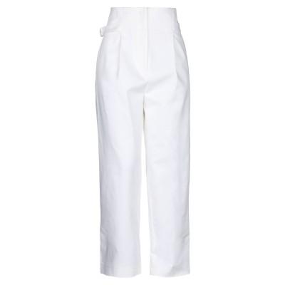 ファビアナフィリッピ FABIANA FILIPPI パンツ ホワイト 38 コットン 98% / ポリウレタン 2% パンツ