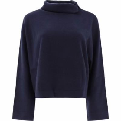 ファビアナ フィリッピ Fabiana Filippi レディース ニット・セーター トップス Button Wool Sweater Blue