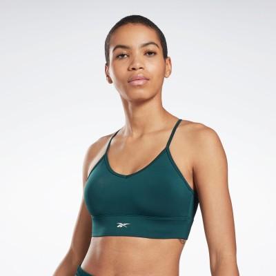 【Reebok公式通販】 ワークアウトレディ スポーツブラ / Workout Ready Sports Bra フォレストグリーン / リーボック